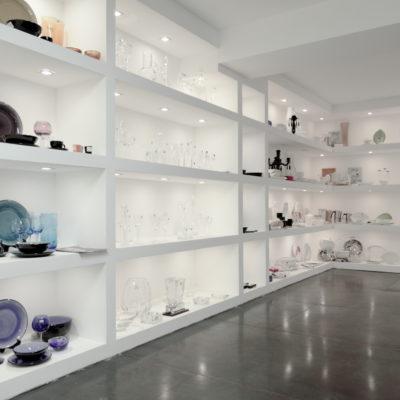 esposizione interna showroom Teypat