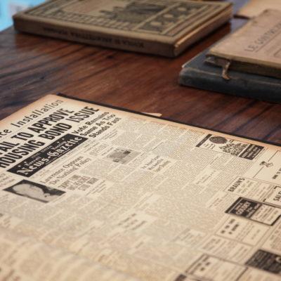 Raccolte giornali americani primi '900