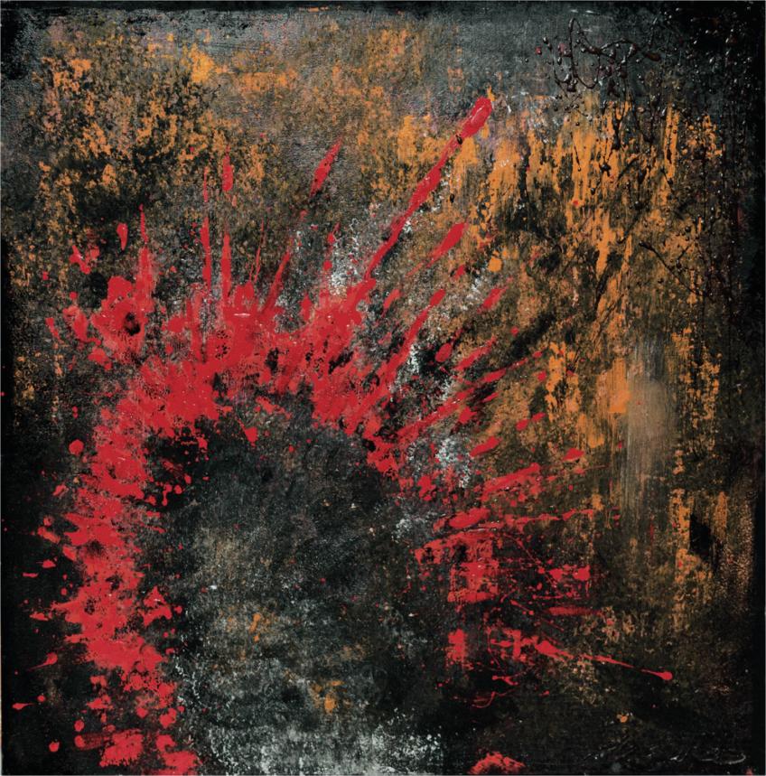 RUSTXXX – il quadro in soffitta