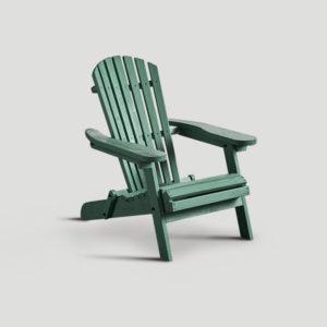 Poltrona in legno verde DB004687