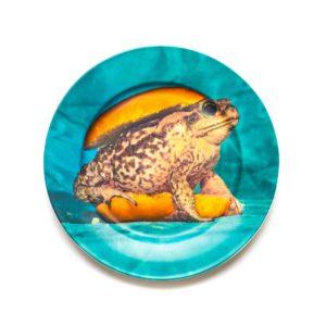 Set 3 piatti piani Toad