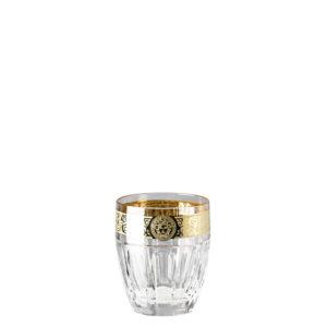 Bicchiere whisky trasparente Gala Prestige Medusa 40401