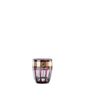 Bicchiere whisky colore viola Gala Prestige Medusa 40401