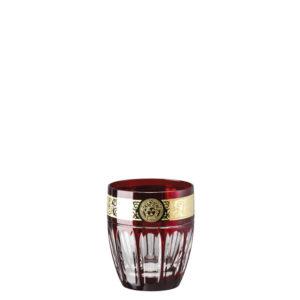 Bicchiere whisky colore rosso Gala Prestige Medusa 40401