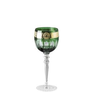 Calice vino bianco colore verde Gala Prestige Medusa 40300