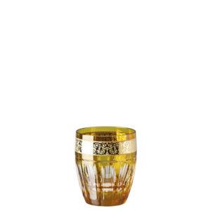 Bicchiere whisky color ambra Gala Prestige Medusa 40401