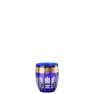 Bicchiere whisky colore colbalto Gala Prestige Medusa 40401
