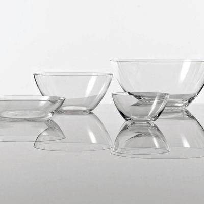 Collezione The white snow Glass
