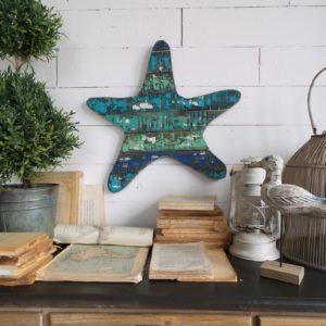 2 pannelli decorativi vintage starfish