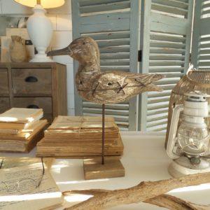 2 decorazioni seagull h.42