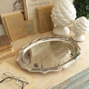 Vassoio ovale classic style