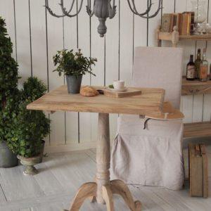 Tavolino bistrot in legno