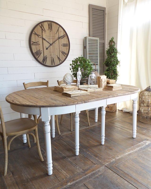 Tavolo Vintage Ovale Allungabile Per Arredare Casa Scegli Lo Stile