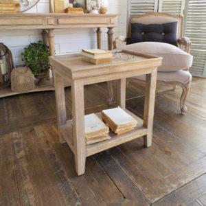 Tavolino Natural in legno di mango