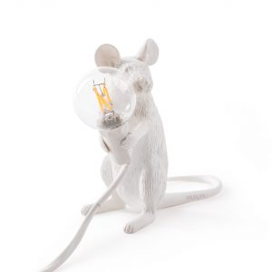 Lampada in Resina Mouse Lamp Seletti