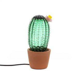 Lampada in Vetro a Led Cactus Sunrise Seletti