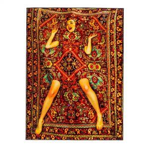 Tappeto rettangolare Lady on Carpet Seletti